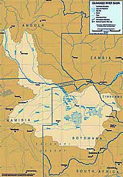 Green Cross Italia Okavango Basin Information System